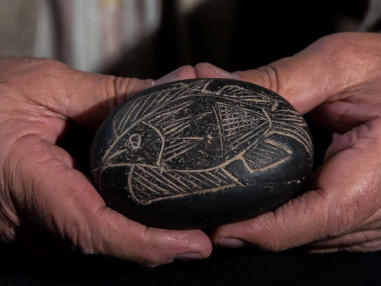 Mysterious stone from Peru can now be seen in the Crimea!